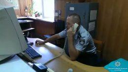 Измаильский отдел полиции - задержание вора