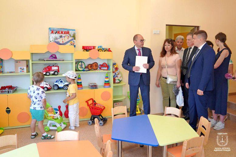 новий дитячий садок «Капітошка» - Фонтанка - Одеська область - 1