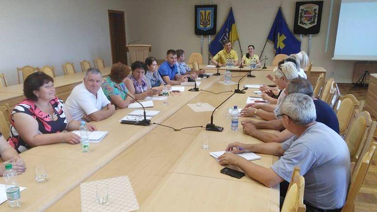 Полтавський Центр розвитку місцевого самоврядування - навчальна поїздка - Велика Михайлівка
