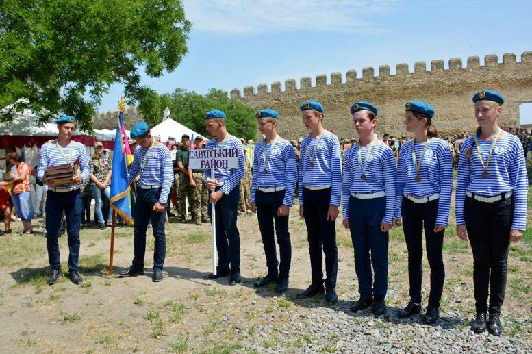 Всеукраїнська військово-патріотична гра «Джура» - команда - Саратський район