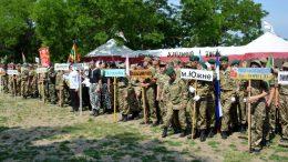 Всеукраїнська військово-патріотична гра «Джура» - команда Арцизького району - переможці обласного етапу