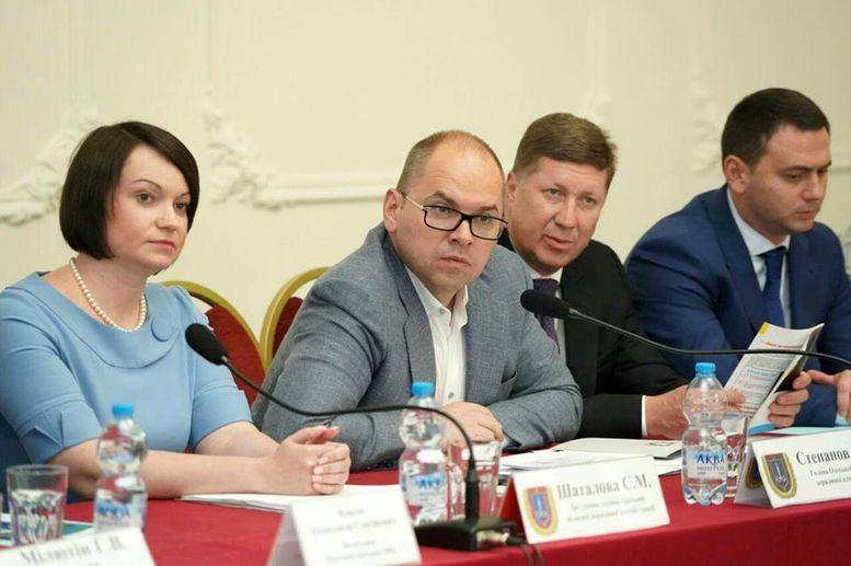 Зустріч представників провідних підприємств регіону - економіка регіона - Одеська область - Степанов