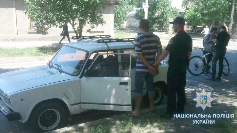 автомобиль - угон - Измаил - полиция
