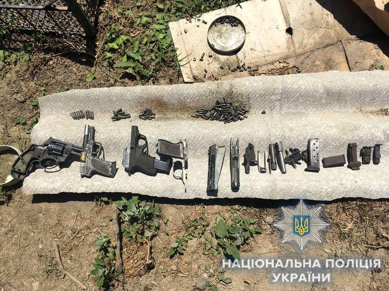 незаконное хранение - оружие боеприпасы - наркотики - полиция