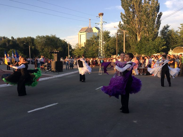 праздничный парад «Выпускник-2018» - Измаил - концерт