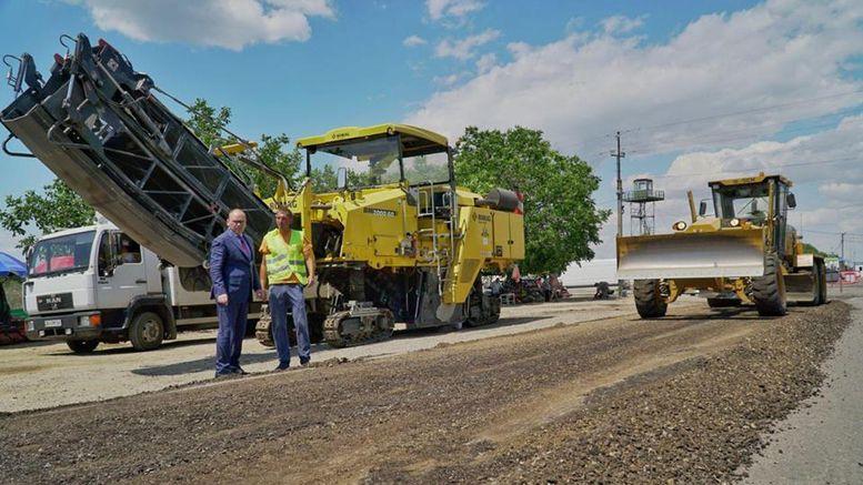 ремонт дороги - Паланка - Монаші
