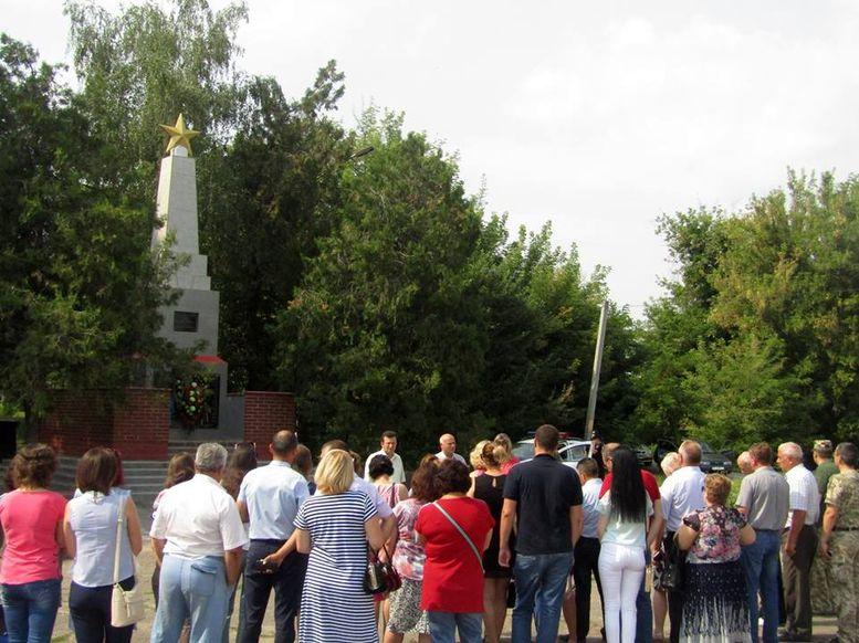 вшанування пам'яті полеглих - Друга Світова війна - Ананьєв - 2