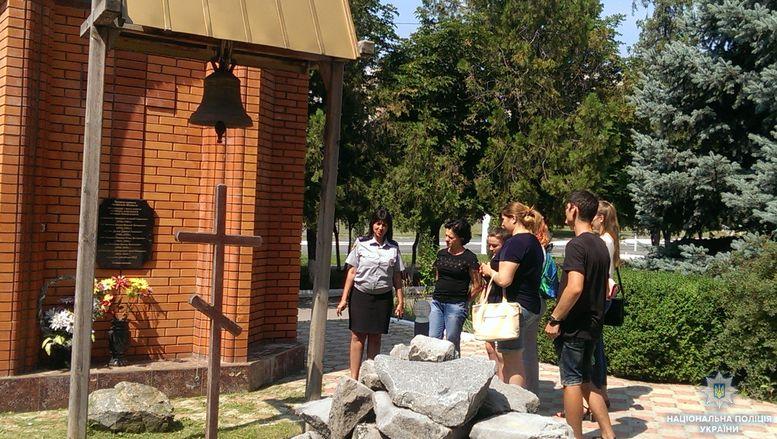 экскурсия для студентов - Измаильский отдел полиции - 1