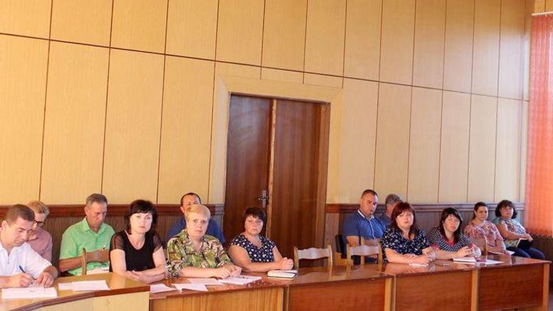 засідання колегії райдержадміністрації - Окни - 3