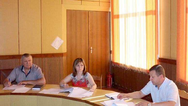 засідання колегії райдержадміністрації - Окни